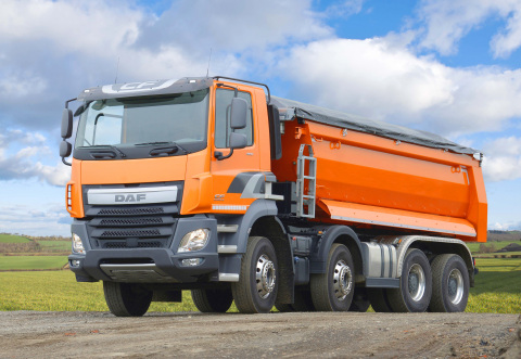 DAF Euro 6 CF Four-Axle Truck (Photo: Business Wire)