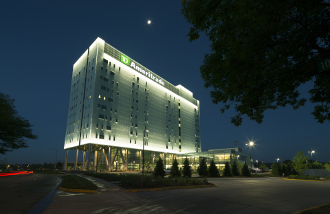 TD Ameritrade's LEED Platinum certified headquarters in Omaha. Photo courtesy of Bob Ervin Photograp ...