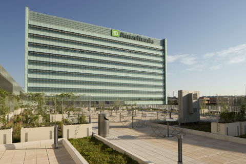 TD Ameritrade's LEED Platinum certified headquarters. Photo courtesy of Bob Ervin Photography.