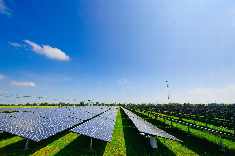 7.46MW solar power plant in Korat, Thailand (Photo: Business Wire)