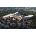 "Priscilla Presley will join fans for an August 14 groundbreaking at the site of a new hotel at Graceland that will serve visitors who travel to Memphis to tour the famous home of the King of Rock 'n' Roll. The full service 450-room hotel, called ""The Guest House at Graceland,"" will be constructed along Elvis Presley Boulevard on the same side of the street as the landmark mansion on land acquired by EPE in 1994. The new hotel will feature spacious rooms and a range of elegant and contemporary facilities, including two restaurants, meeting and special events space, and a 500-seat theater for live performances. (Photo: Business Wire)"