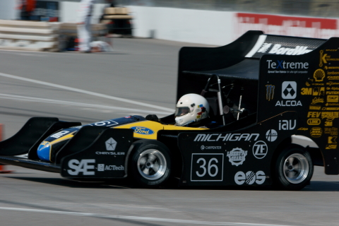 Smithers Rapra announced a new sponsorship of the University of Michigan's Formula SAE team, MRacing, providing the team with Force and Moment tire testing services. (Photo: Business Wire)
