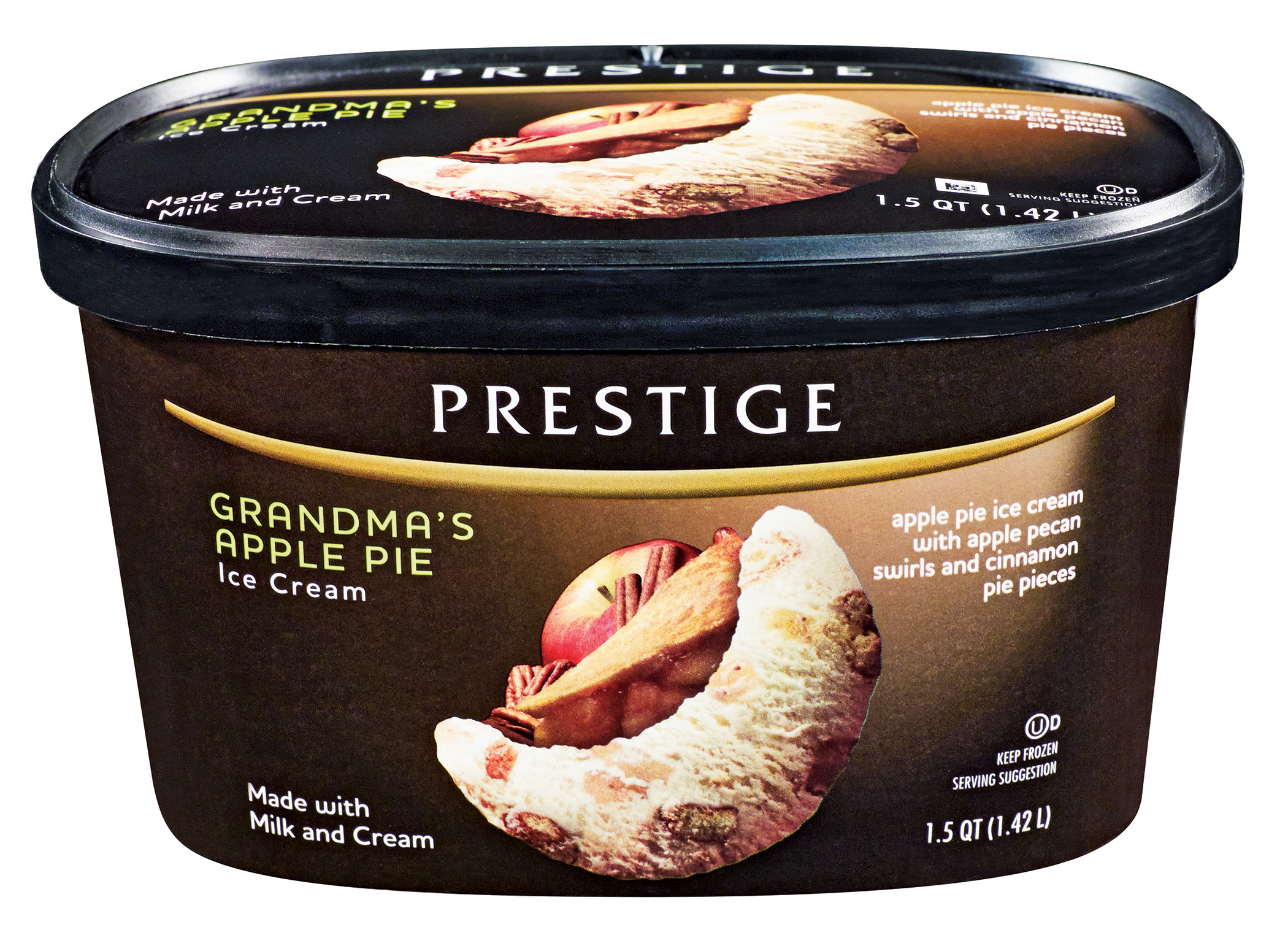 Prestige Premium Ice Cream. Made with real milk and cream. (Photo: Business Wire)