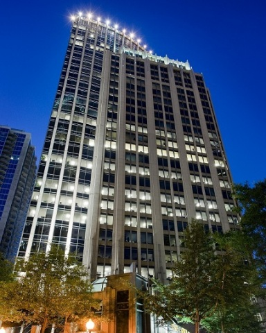 Parmenter Realty Partners is under contract to sell Fifth Third Center in Charlotte, North Carolina for $215 million after purchasing the trophy office tower two years ago for $163 million. (Photo: Business Wire)
