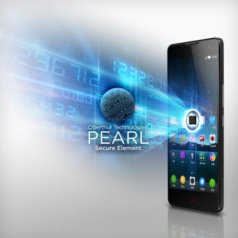 El nuevo nubia Z7 equipado con eSE PEARL de OT para habilitar el servicio de pago móvil de CUP (Foto ...