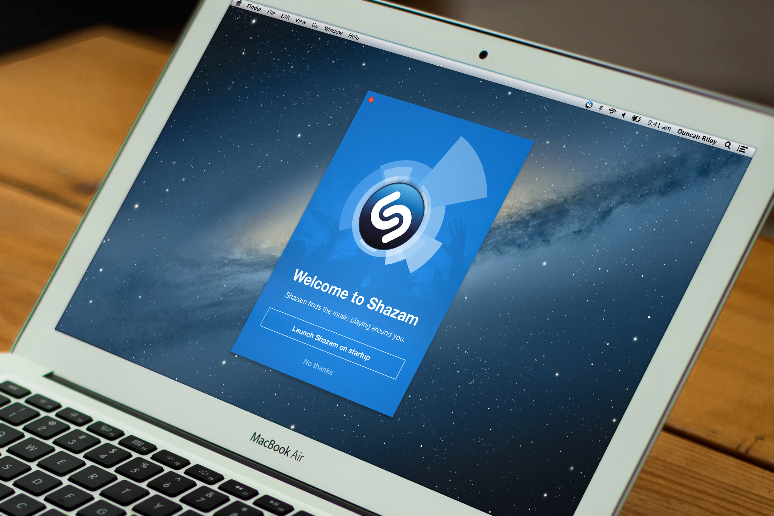 """""""Shazam on mobile instantaneously answers fans' questions about what's playing around them, at the touch of a button. The magic of Shazam for Mac, is that it anticipates and answers these questions before they're even asked,"""" said Shazam Chief Product Officer Daniel Danker."""