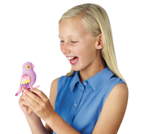 Little Live Pets, the brand new line of collectible, life-like talking pet birds from Moose Toys, sw ...