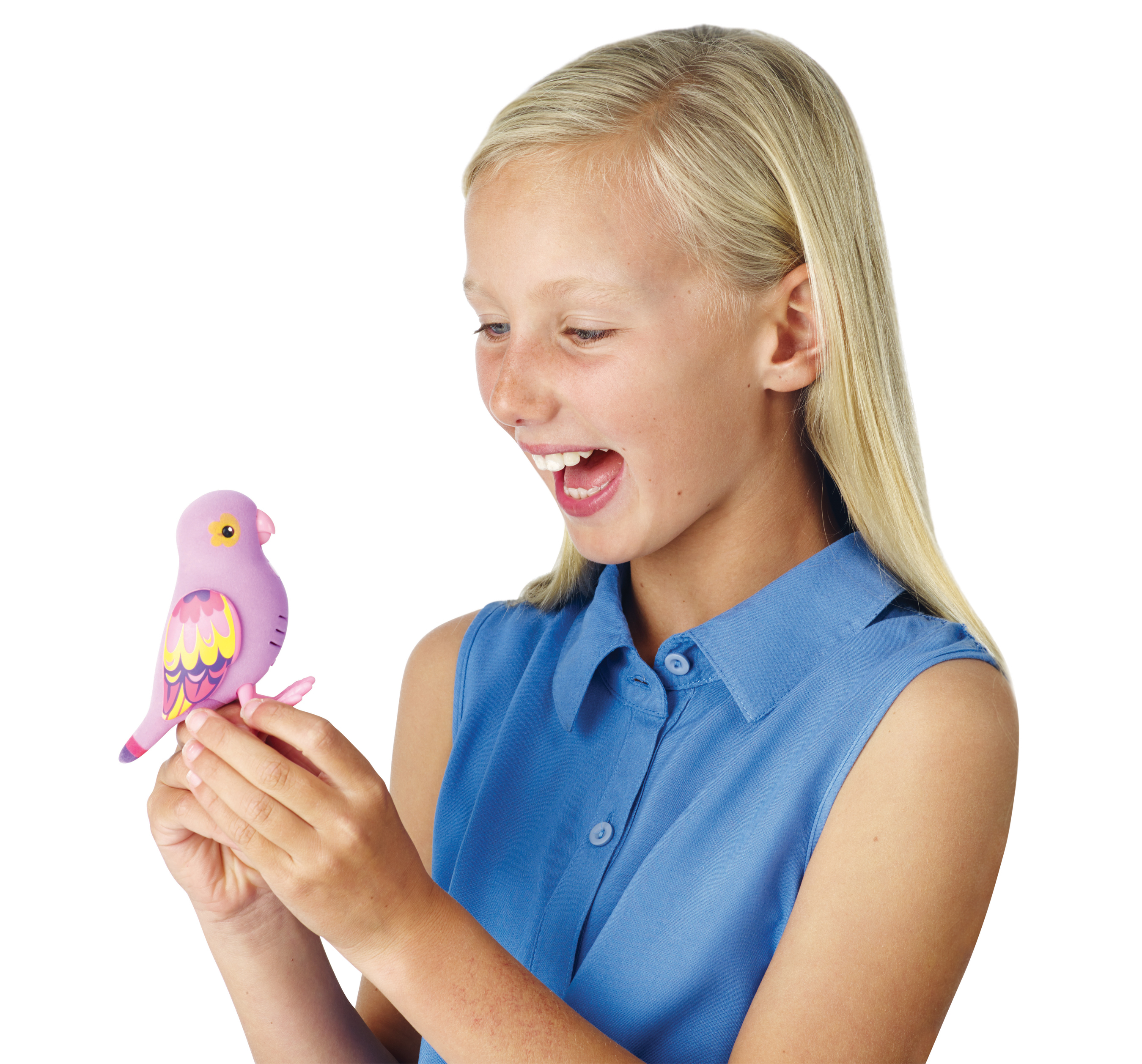Little Live Pets, the brand new line of collectible, life-like talking pet birds from Moose Toys, swoops into the market and onto children's wish lists. (Photo: Business Wire)