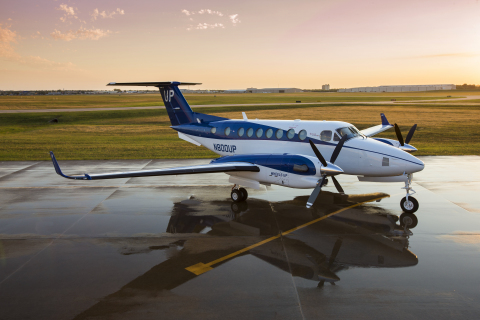 Wheels Up Beechcraft King Air 350i (Photo: Business Wire)