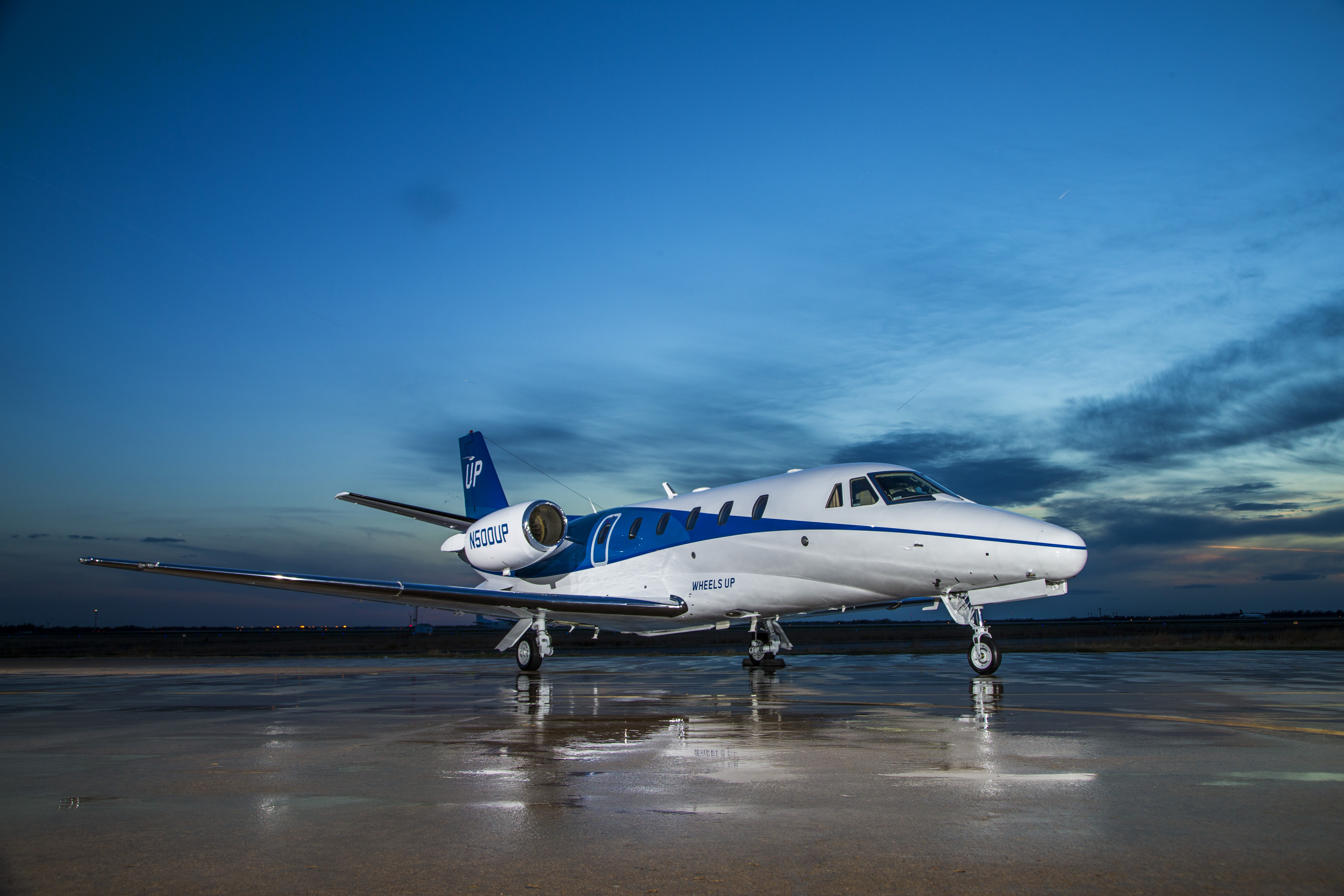 Wheels Up Citation Excel/XLS aircraft (Photo: Business Wire)