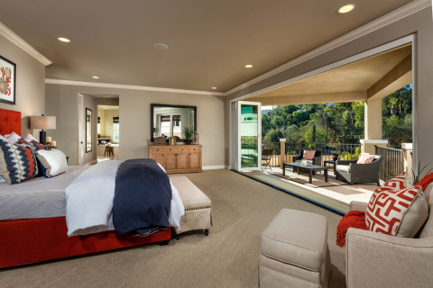 KB homebuyers can build a balcony with their master bedroom at KB Home's La Mesa Meadows community in La Mesa, Calif. (Photo: Business Wire)