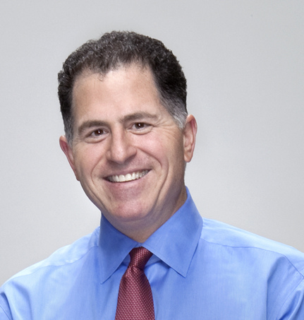 Michael Dell. Source: Wikipedia commons, author: mikeandryan