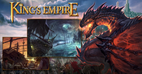 Coming soon new component of King's Empire: Dragon Island (Graphic: Business Wire)