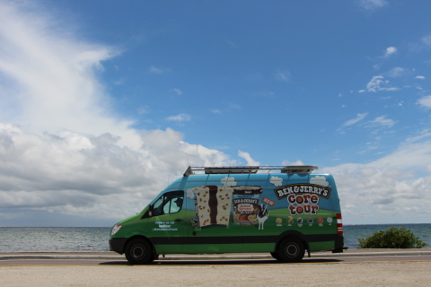 Ben & Jerry's scoop truck tour is scooping out the newest Cores lineup to fans. (Photo: Business Wire)