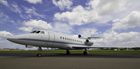 ExecuJet's Falcon 900 (Photo: Business Wire)