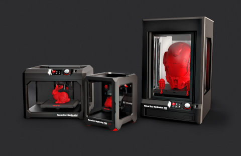 MakerBot, a global leader in desktop 3D printing, announced it is opening a MakerBot Europe office based in Germany, to expand its 3D printing business throughout Europe. (Photo: Business Wire)