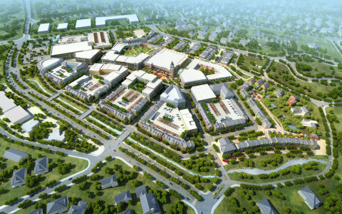 Cottonwood Birds Eye View Rendering (Photo: Business Wire)