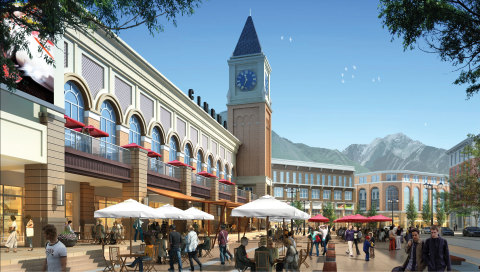 Cottonwood Clock Tower Rendering (Photo: Business Wire)