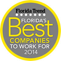 Florida's Best Companies To Work For 2014 (Graphic: Business Wire)