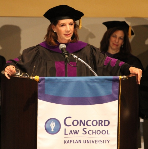 Deborah A. David is the keynote speaker at Concord Law School's graduation. (Photo: Business Wire)