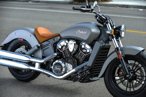 Indian Motorcycle unveils the 2015 Indian Scout starting at $10,999. Shown in Silver Smoke finish. (Photo: Indian Motorcycle)