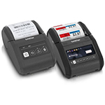 RuggedJet(TM) 3 Series mobile label & receipt printers by Brother (Photo: Business Wire)
