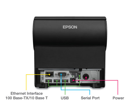 Epson OmniLink TM-T88V-i with new connectivity options (Photo: Business Wire)