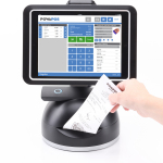 The PowaPOS T-Series, the first all-in-one, tablet-based POS platform, now integrates with e-Nabler's award-winning eMobilePOS software. (Photo: Business Wire)