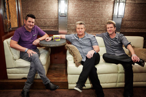 Rascal Flatts on couch with Nexium 24HR (Photo: Business Wire)
