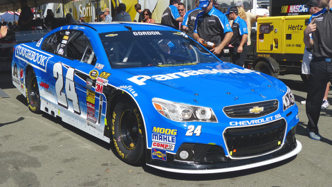 Gordon's No. 24 Panasonic Chevrolet SS (Photo: Business Wire)