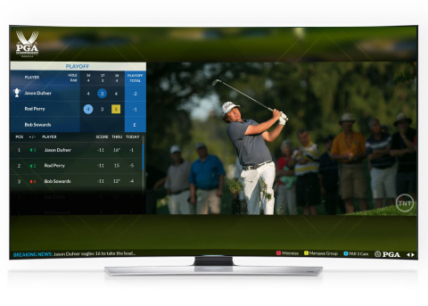 The PGA Championship TV App is the first-ever event-based golf experience app designed for the Samsu ...