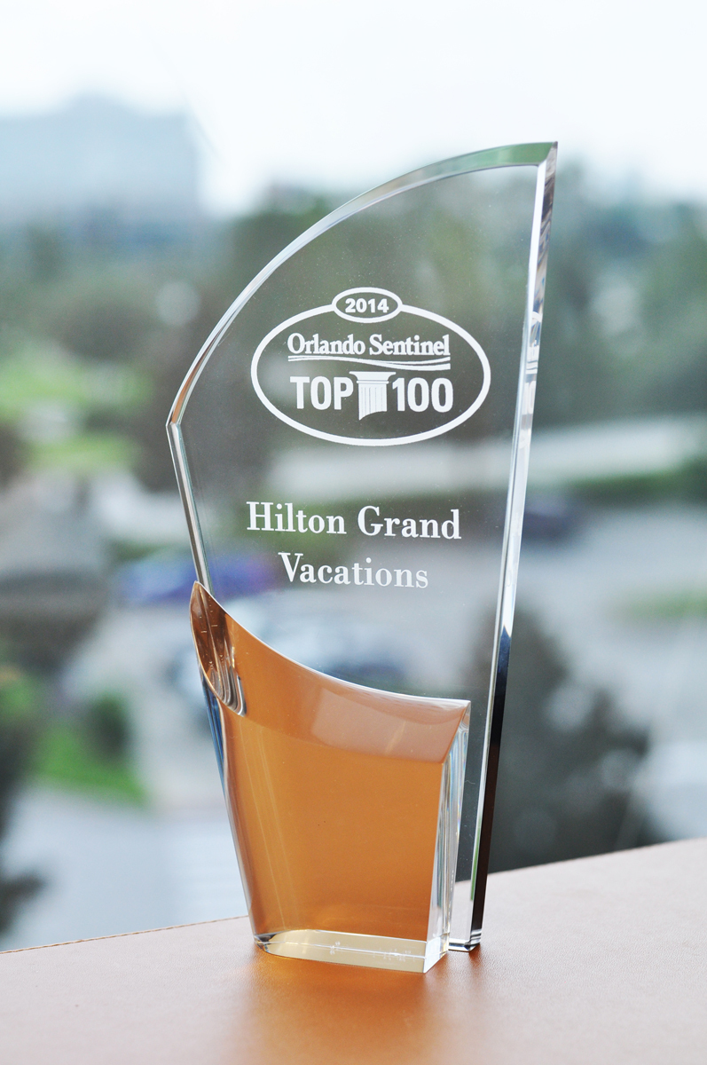 Hilton Grand Vacations (HGV) has once again been selected by the Orlando Sentinel as one of Central Florida's Top 100 Companies for Working Families – this year placing among the top 20 large companies within the region. (Photo: Business Wire)