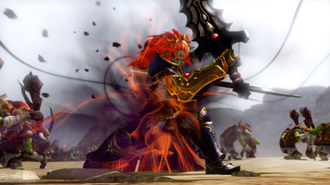 Ganondorf, nemesis of Link and aspiring Triforce owner, will become a force to be reckoned with in the upcoming Hyrule Warriors video game, which launches Sept. 26 for the Wii U home console. (Photo: Business Wire)