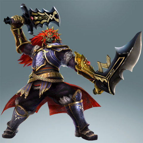 Ganondorf's dual swords make him a force to be reckoned with. (Photo: Business Wire)