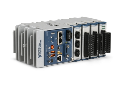 The CompactDAQ 4-slot controller integrates an Intel Atom processor and high-accuracy measurements i ...