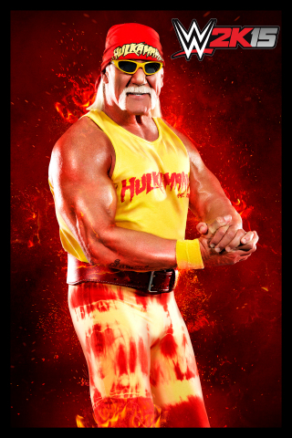 """Two pre-order, launch exclusive playable characters: Hulk Hogan and """"Hollywood"""" Hulk Hogan (Graphic: Business Wire)"""
