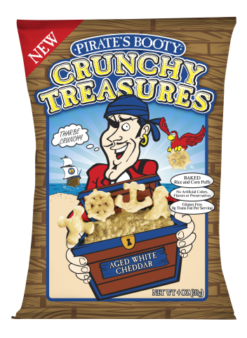 Pirate's Booty Crunchy Treasures (Photo: Business Wire)