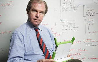 One Laptop per Child's Nicholas Negroponte (Photo: Business Wire)