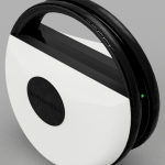 Jr., from Roambotics, is a freestanding wheel that moves independently to capture high-quality video and still images. (Photo: Business Wire)