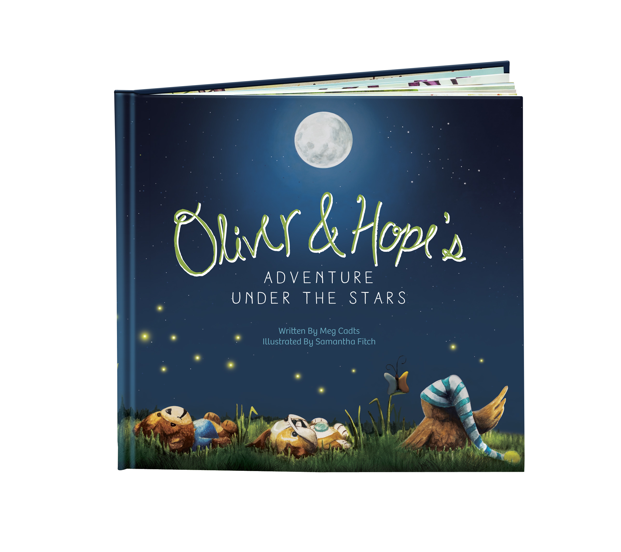 """To help raise funds for its child medical grant program, UnitedHealthcare Children's Foundation has published a new children's book, """"Oliver & Hope's Adventure Under the Stars"""" - the second book in the Oliver & Hope series (Photo: UnitedHealthcare Children's Foundation)."""