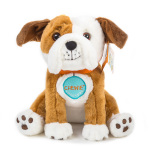 """Oliver & Hope's Adventure Under the Stars"" is available on Amazon.com for $13.95. The first 250 people who purchase an ""Oliver & Hope's Adventure Under the Stars"" book will receive a Chewie the English bulldog plush toy, to be shipped separately (Photo: UnitedHealthcare Children's Foundation)."