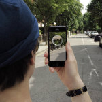 Traces is the world's first immersive messaging app - letting you send video, pictures and music to specific locations. Photo credit: Ljudmilla Socci