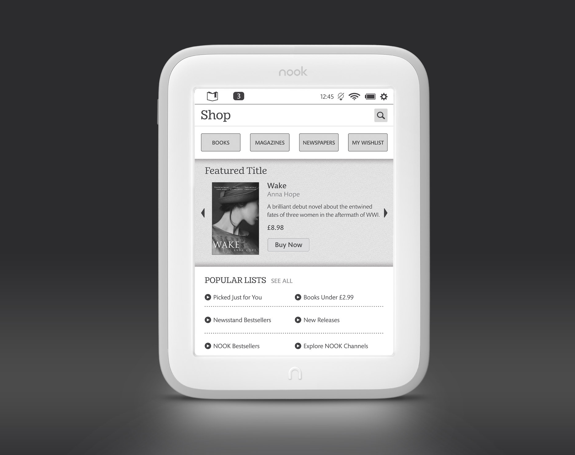 Barnes Noble Introduces the Lighter Brighter NOOK GlowLight to