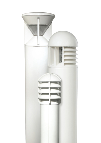 Kim Lighting has expanded and upgraded its offering of LED bollards for pedestrian scale lighting applications. (Photo: Business Wire)