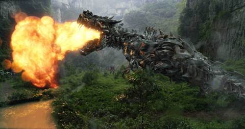 "Paramount Pictures delivered the global megahit of the summer in ""Transformers: Age of Extinction,"" which recently surpassed $1 billion at the worldwide box office.  The film now stands as the highest-grossing theatrical release of all time in China. (Photo: Industrial Light & Magic for Paramount)"