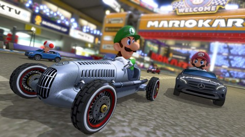 An Aug. 27 game update to Mario Kart 8 for the Wii U console will deliver a variety of new features  ...