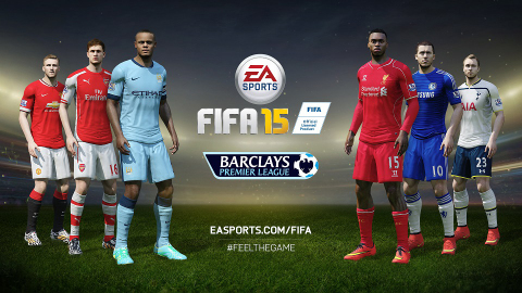 Over 200 New Stunning Digital Player Models, New Broadcast Package, and All 20 Club Stadiums Now Featured in EA SPORTS FIFA 15 (Graphic: Business Wire)