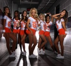 Hooters Girls Football Team Lineup (Photo: Business Wire)