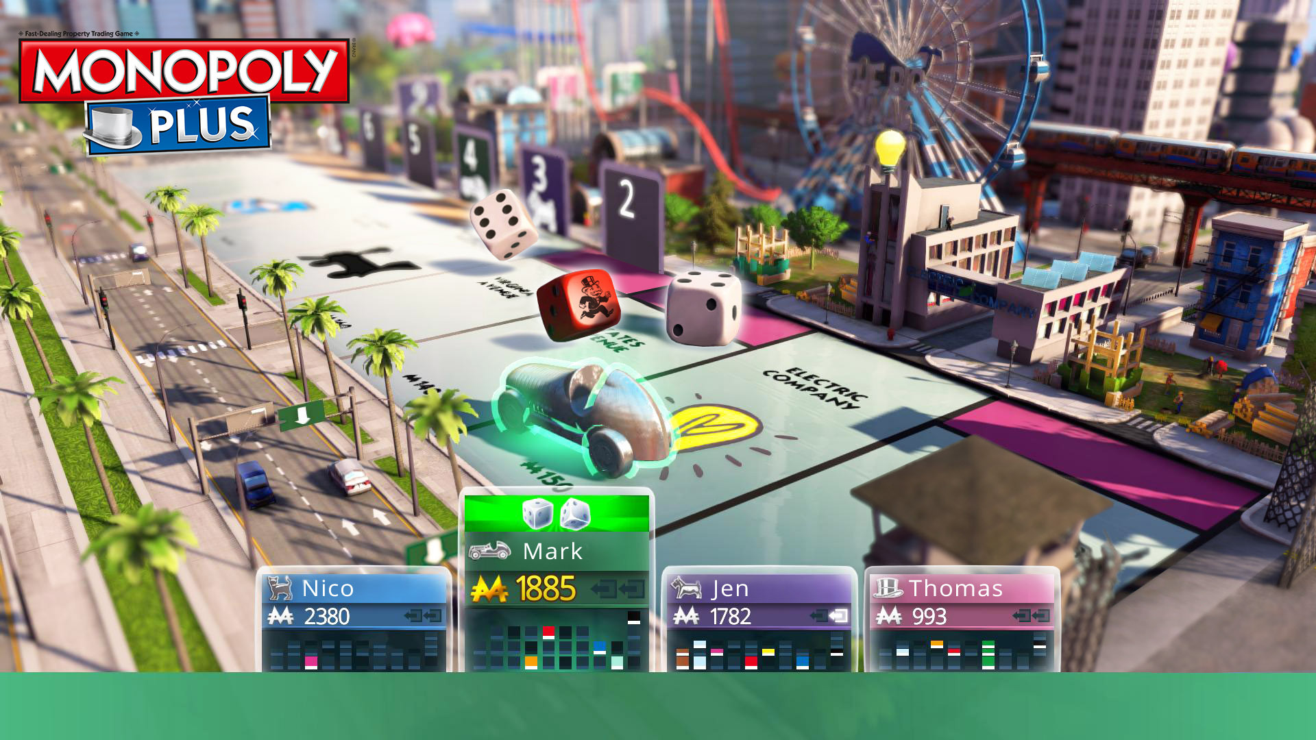 Hasbro Game Channel is the destination for family game entertainment on consoles with new ways to play your favorite classics such as Monopoly, Trivial Pursuit, Risk and more. (Photo: Business Wire)