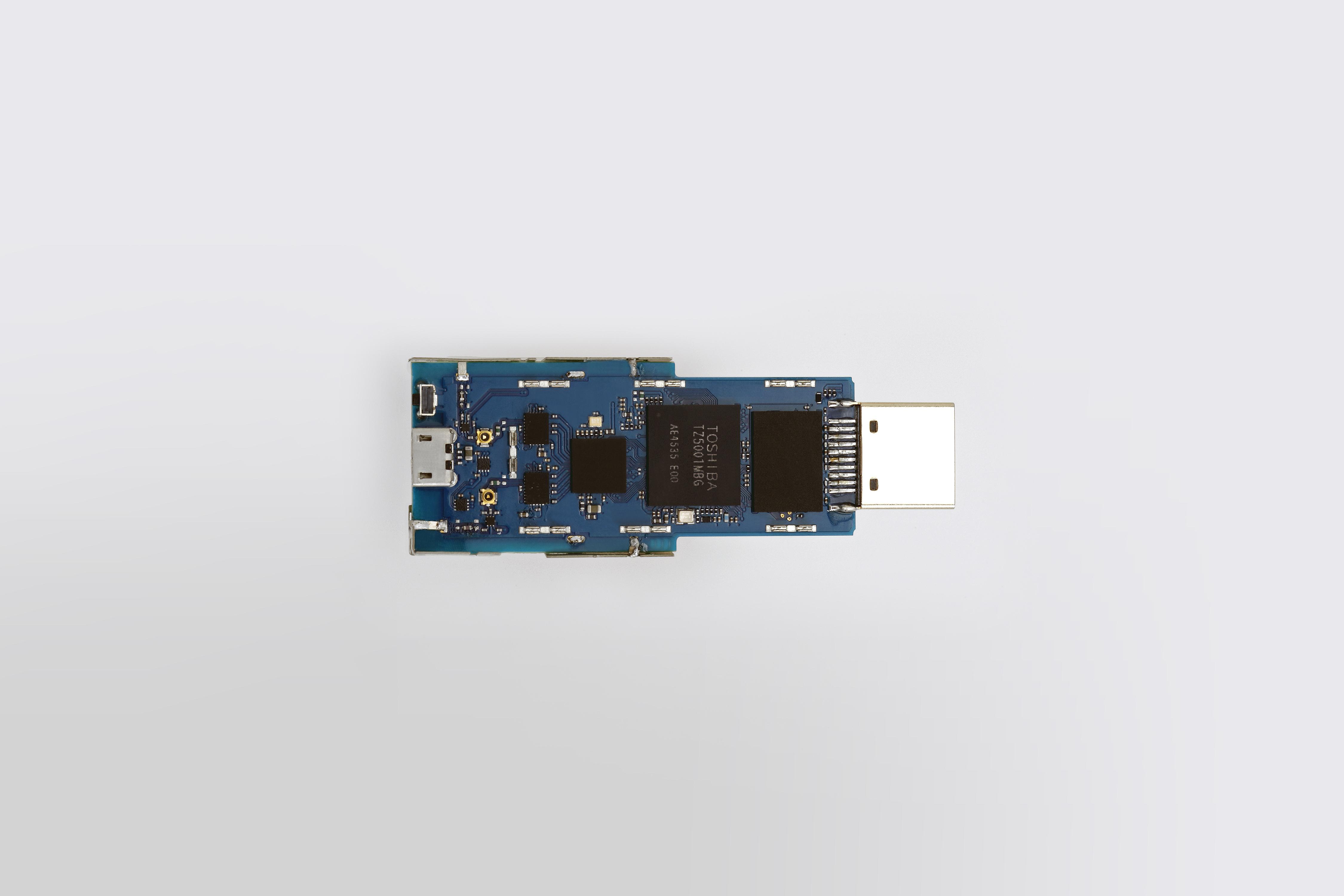 """Toshiba: """"ApP Lite(TM) TZ5000"""" starter kit """"RBTZ5000-6MA-A1"""" (stick type) (Photo: Business Wire)"""